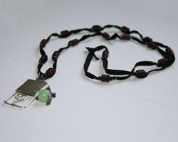 Ожерелье из турманиевой керамики