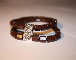 Ожерелье из турманиевой керамики (TB-21)